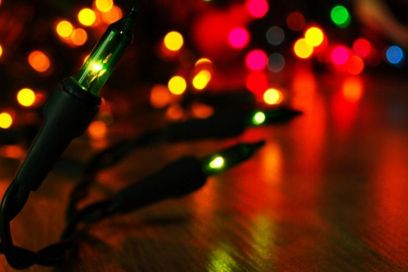 gorgerous christmas lights background 1920x1080 free download