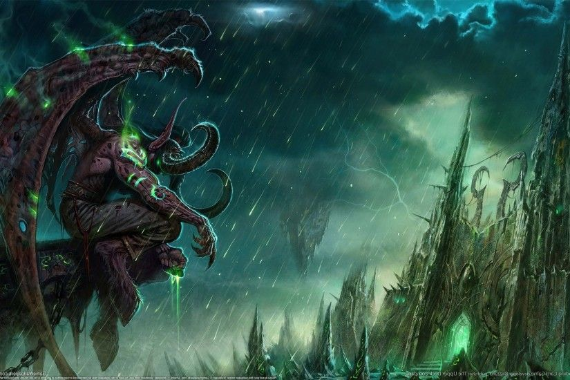 Illidan Stormrage, World Of Warcraft, World Of Warcraft, Fantasy Art  Wallpapers HD / Desktop and Mobile Backgrounds