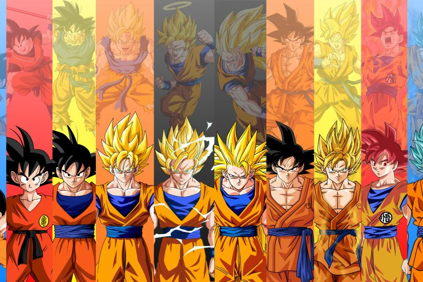 I recommend you to download this wallpaper and set as your desktop  background. This is a 4k Ultra HD Dragon Ball Z wallpaper with picture of Son  Goku ...