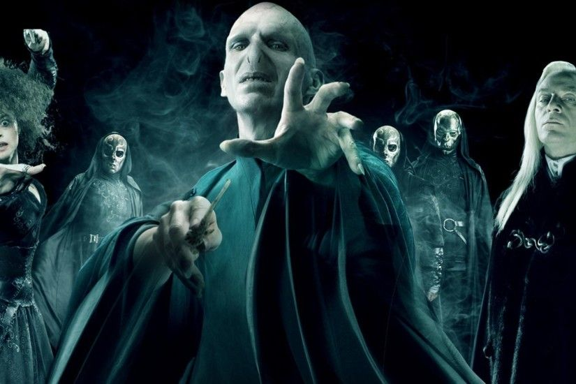 Harry Potter, Lord Voldemort, Bellatrix Lestrange, Death Eater, Lucius  Malfoy Wallpapers HD / Desktop and Mobile Backgrounds
