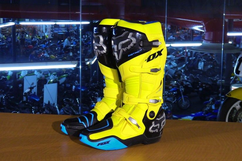 Fox Racing Instinct Monster Energy Cup LE Motorcycle Boots Review | DRN:  Motocross, Supercross & Off-Road : Since 1999