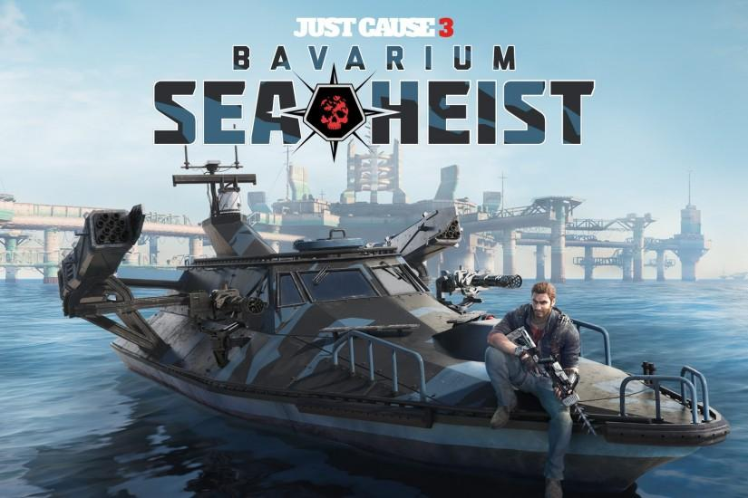 3 Just Cause 3: Bavarium Sea Heist HD Wallpapers | Backgrounds - Wallpaper  Abyss