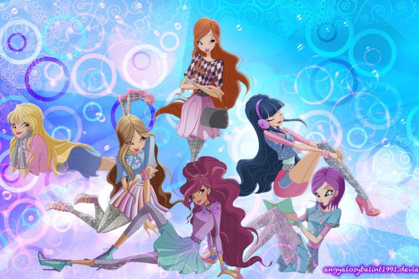 World Of Winx Wallpaper by angyalosybalint1991 World Of Winx Wallpaper by  angyalosybalint1991