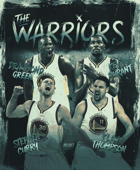 ... The Golden State Warriors Poster by NewtDesigns