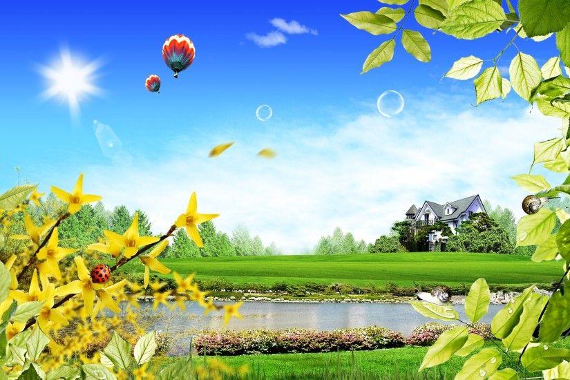 3d Beautiful Scenery HD Wallpapers http://wallpapers.ae/3d-beautiful