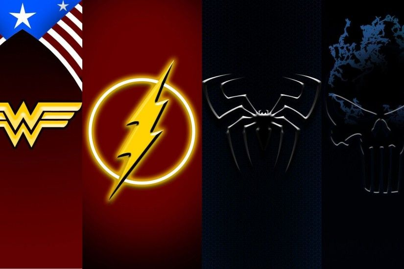 Flash Superhero Wallpaper 1920×1080