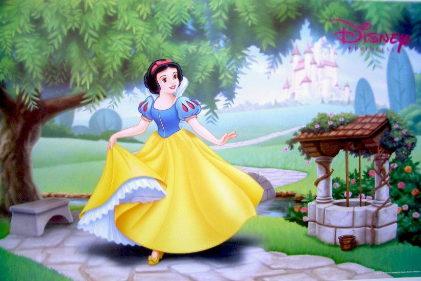 Cartoon Walt Disney Story For Snow White And The Seven Dwarfs Wallpaper Hd  1920×1200