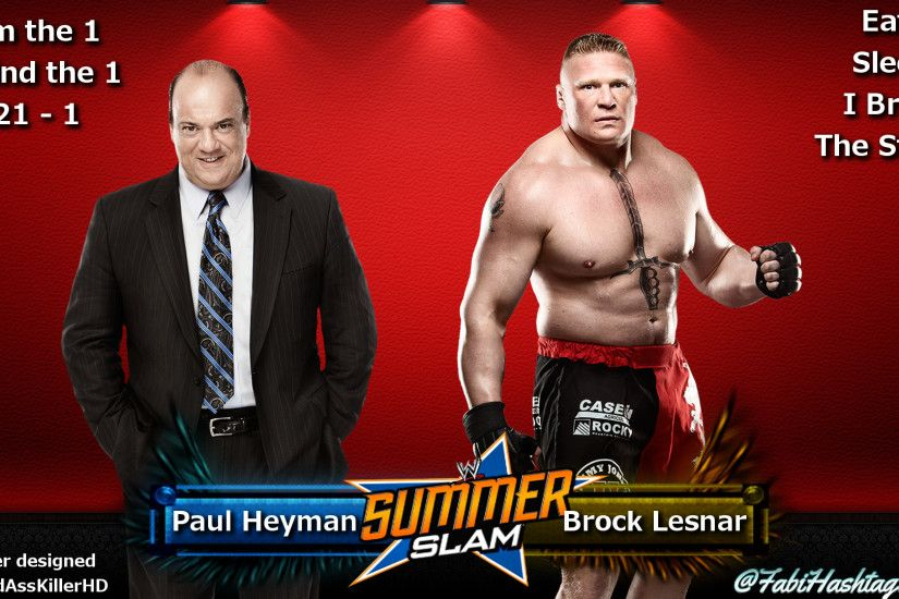 ... Brock Lesnar and Paul Heyman Wallpaper by Fabian-Winchester