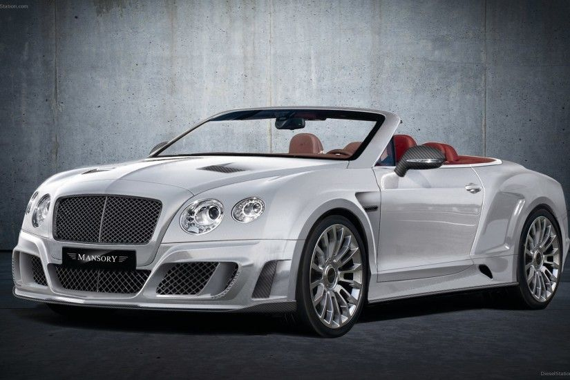 Mansory Bentley Continental GT 2012 Widescreen Exotic Car