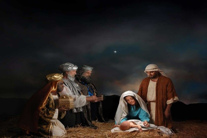 Nativity Scene Wallpaper - Viewing Gallery