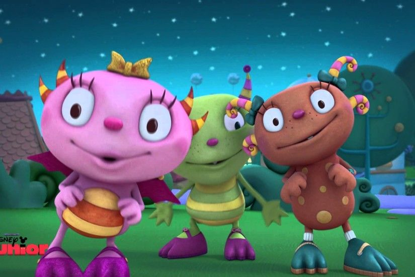 Henry Hugglemonster - Monster Party - Official Disney Junior UK HD - YouTube
