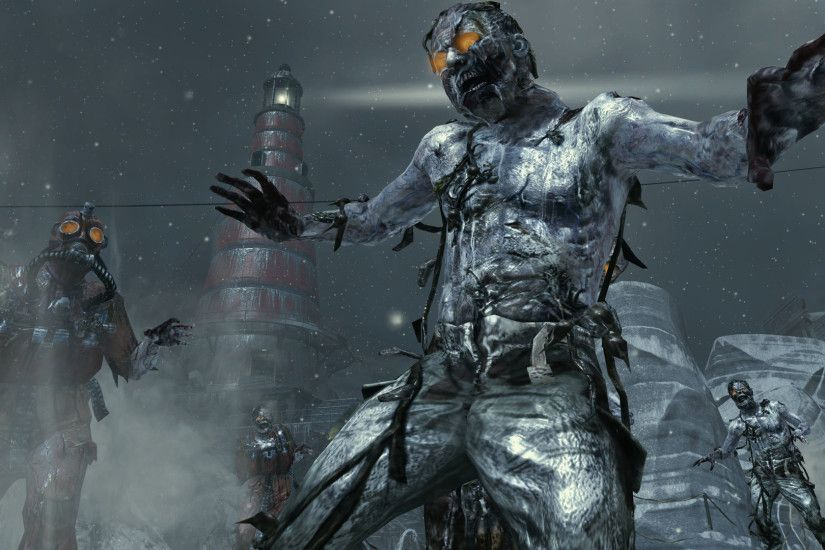 Black Ops 2 Zombies Background HD Wallpaper