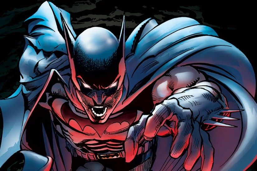 ... batman vs spawn graphics and comments ...
