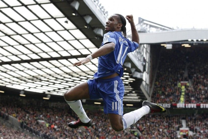 drogba didier drogba chelsea stadium target football england is drogba star  viewers old trafford the player