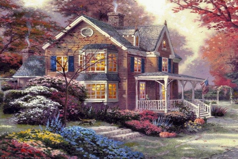 Image-Detail-for-Thomas-Kinkade-Paintings-Art-HD-