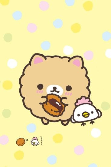 #Rilakkuma / Soo #Kawaii > Download more super cute #iPhone #Wallpapers at  @prettywallpaper