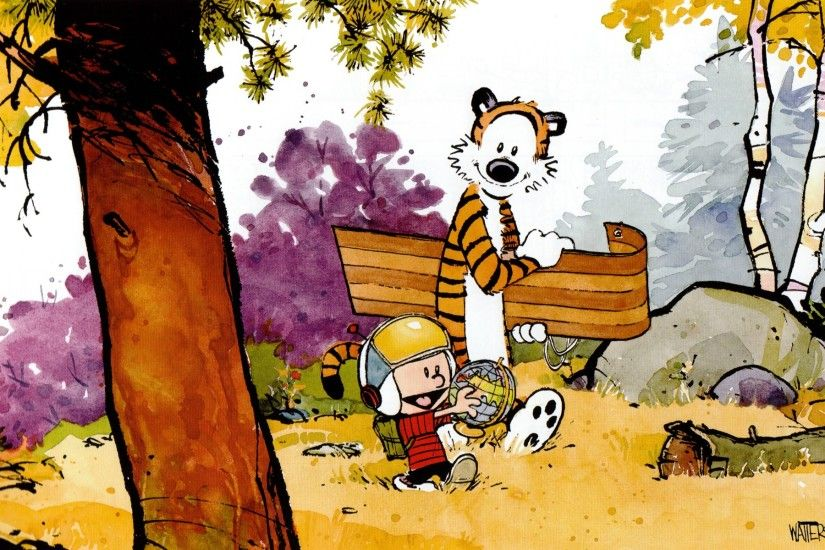 Calvin And Hobbes Wallpapers Hd Pixelstalk Net