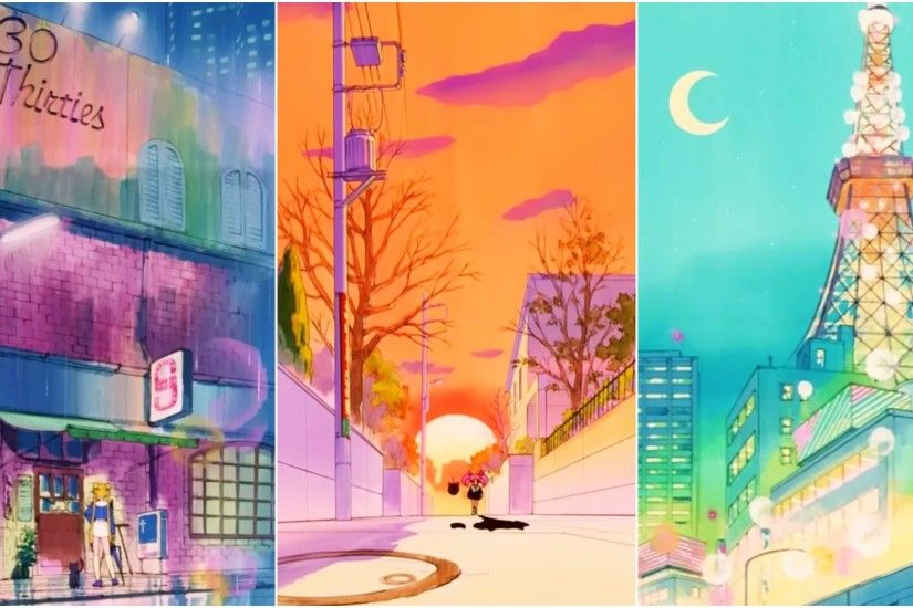Let's Admire Sailor Moon Anime Backgrounds