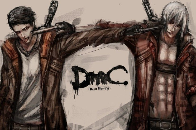 SuperHD.pics: Dante Devil May Cry Devil May Cry 5 artwork black .