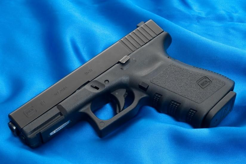 glock gun weapon wallpaper austria canvas blue glock gun weapons wallpapers