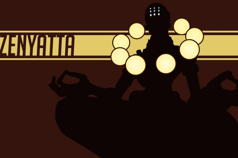 gorgerous zenyatta wallpaper 1920x1080 notebook