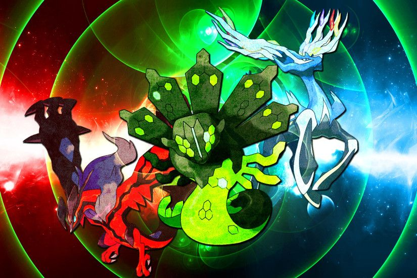 ... Pokemon Wallpaper: Xerneas Yveltal and Zygarde by FRUITYNITE