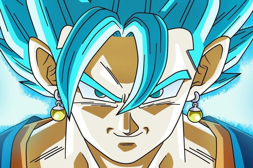 Vegito Super Saiyan Blue DBS Goku an... Wallpaper #15526