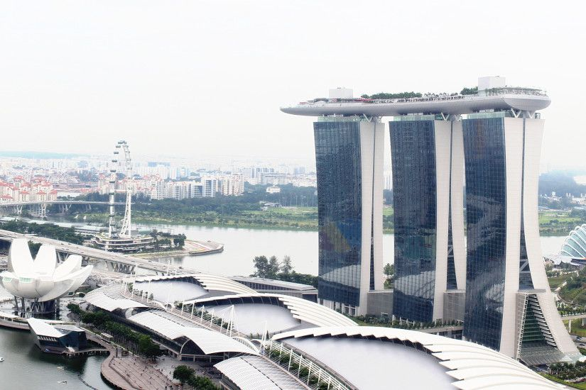 Marina Bay Sands High Quality Wallpaper