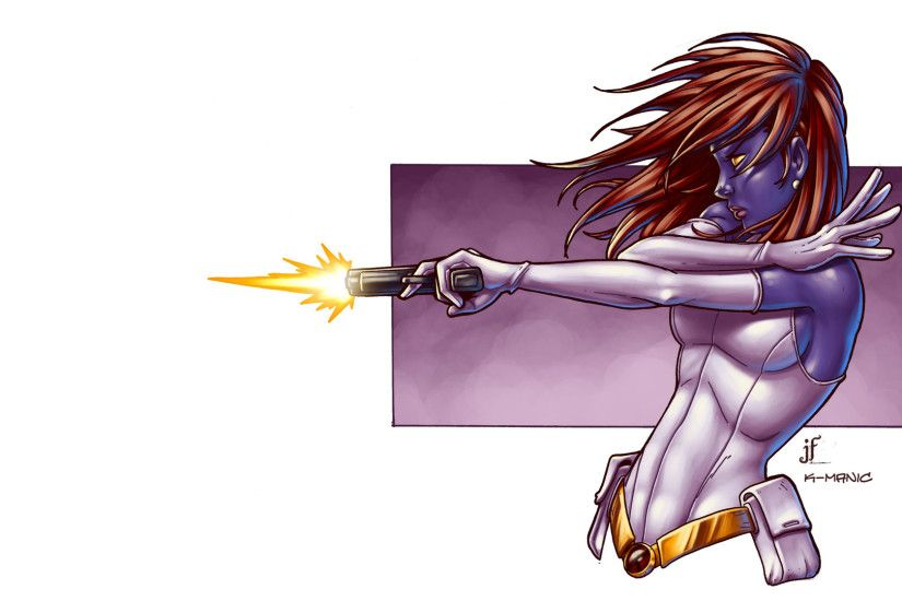 Mystique Handgun X-Men Marvel White wallpaper | 1920x1080 | 45478 |  WallpaperUP