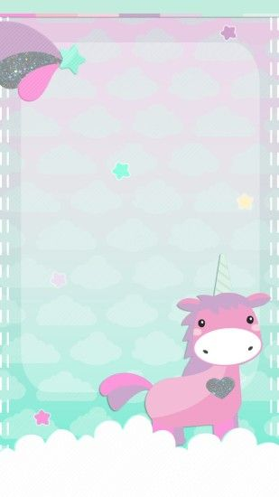 Pink Fluffy Unicorns Wallpapers