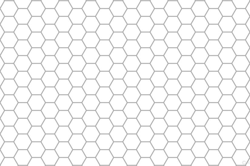 wallpaper beehive hexagon white honeycomb grey dark gray #ffffff #a9a9a9  diagonal 30° 6px