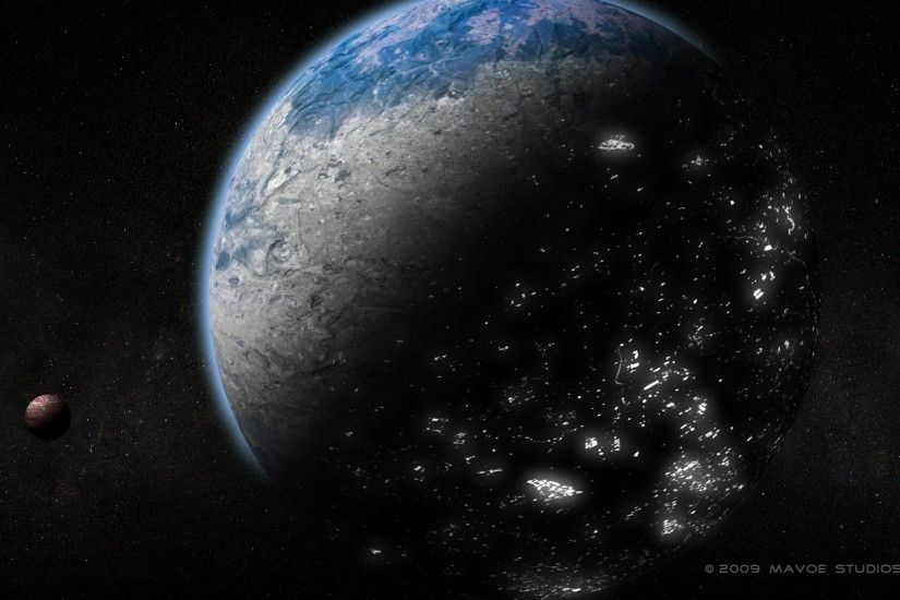Preview wallpaper earth, day, night, urbanization, progress 3840x2160