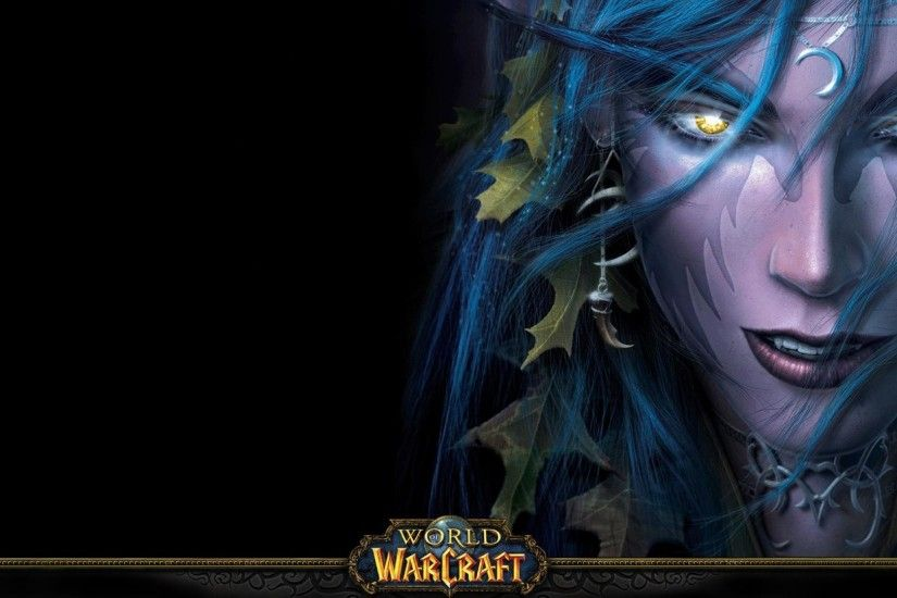 World of warcraft night elf Wallpaper 1920x1080