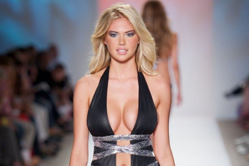 Women Boobs Kate Upton Black Outfits ...