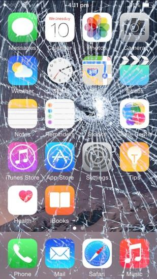 7 Broken Screen Wallpapers For Apple iPhone 5, 6 and 7 – Best Prank To Fool  Apple Fanboy