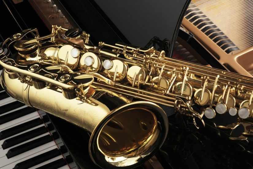 Saxophone and Piano for 2560x1440 HDTV resolution