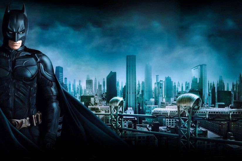 Batman & Gotham City - The Dark Knight 1920x1080 wallpaper