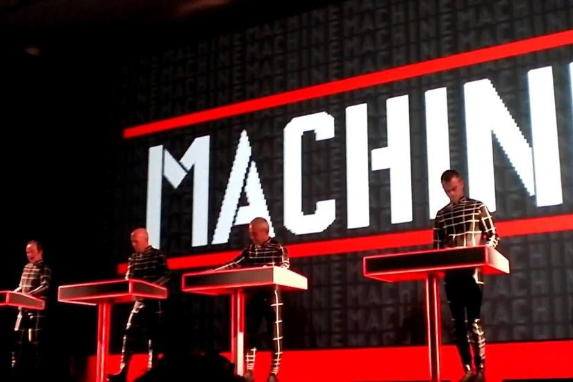 Man Machine - Kraftwerk 1 2 3 4 5 6 7 8 Retrospective #1 Autobahn at the  MOMA NYC 3D