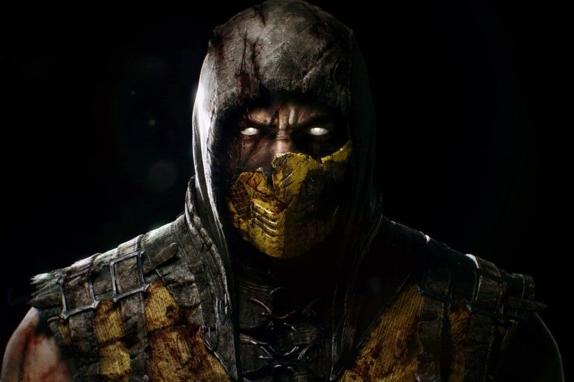 Video Game - Mortal Kombat X Mortal Kombat Scorpion Wallpaper