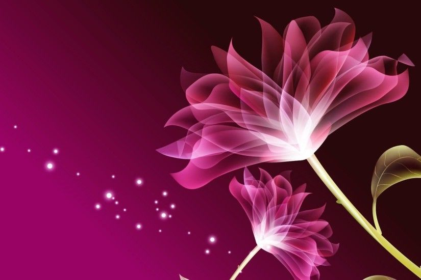 Flower wallpaper beautiful pink