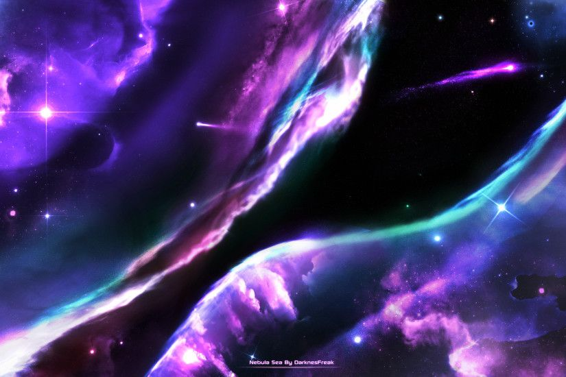 Space-Fantasy Wallpaper Set 94