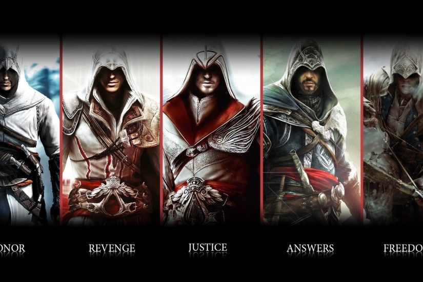 Assassins Creed Video Game HD Wallpaper. « »