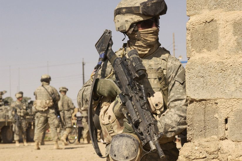 soldier wallpapers, American, army, war, weapon | HD Desktop .