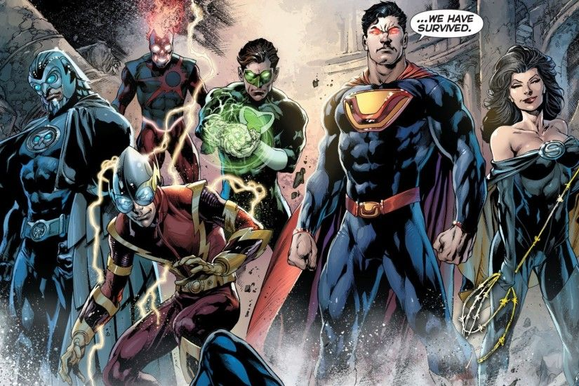 Forever Evil, New 52, Ultraman (Superman), Superwoman (Lois Lane)