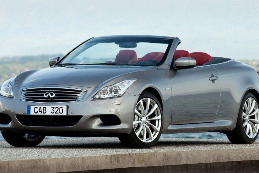 Infiniti G37 Convertible Sport Styling Car Hd Wallpaper For Iphone 2009 G