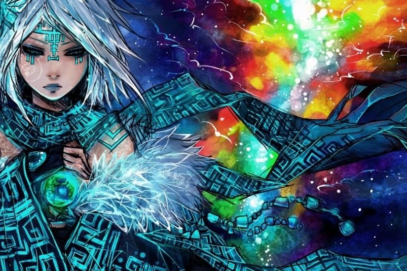 Tribal-mage-HD-anime-wallpaper