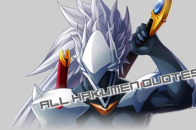 BlazBlue ChronoPhantasma Extend [PC] Hakumen All Quotes [1080P]
