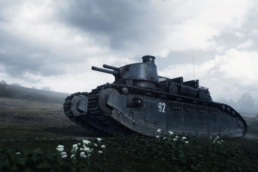 Battlefield 1 Behemoth Tank Wallpaper