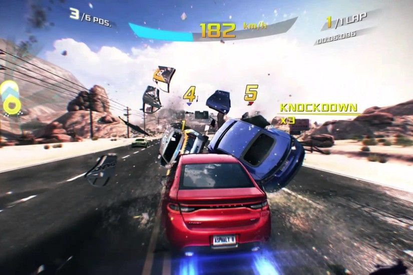 Epic crashing | Asphalt 8 airborne