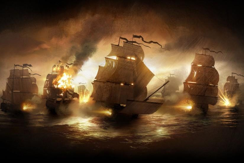 Pirate Ship High Quality HD Wallpaper - Beraplan.